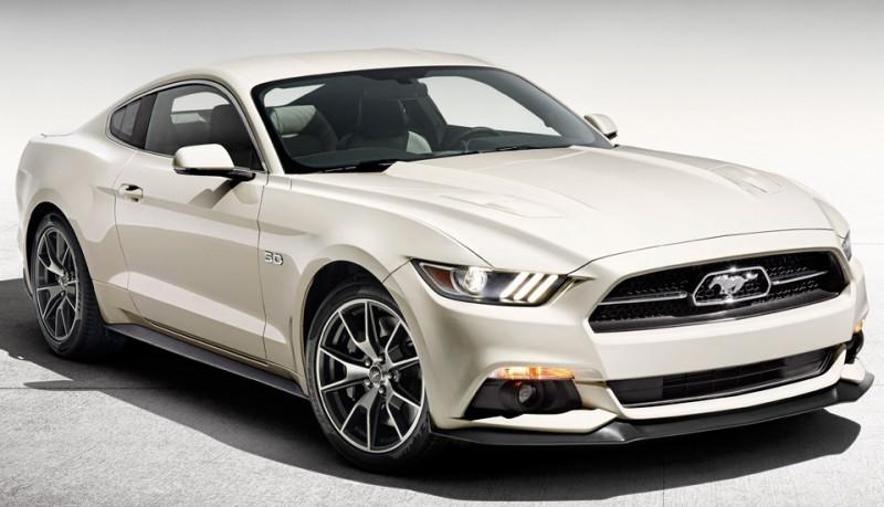 Ford Mustang 2015 edición 50 aniversario