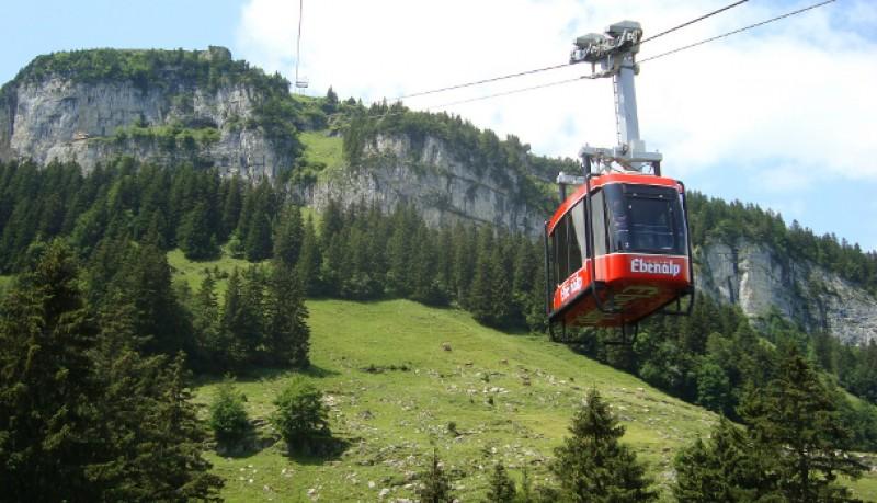 Albergue de montaña en Weissbad Suiza