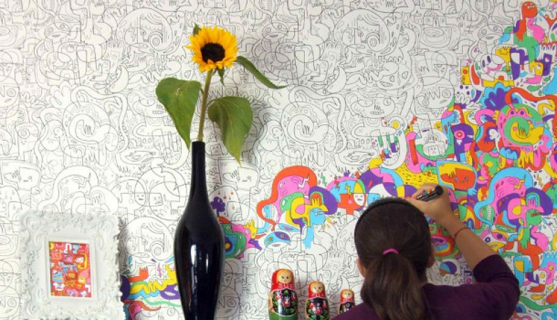 Papel Colour-In de Burgerplex