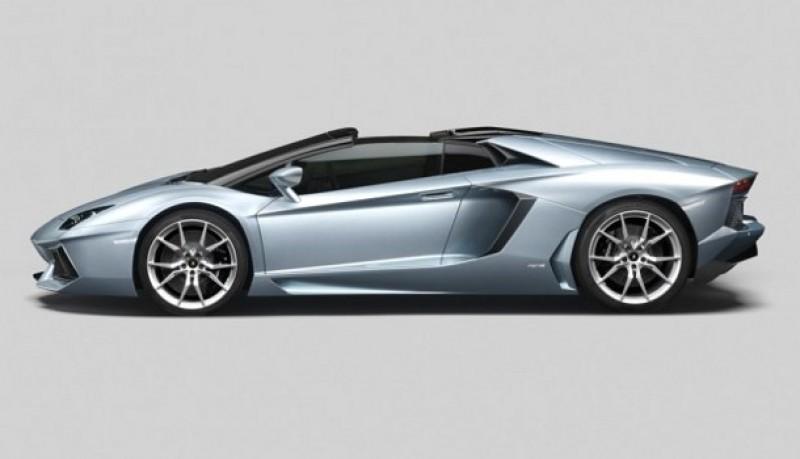 Lamborghini Aventator LP 700-4 Roadster