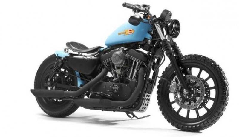 Harley XL1200R Sportster de Shaw Speed & Custom