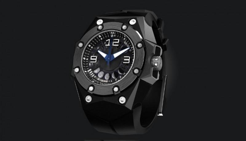Reloj Oktopus II Luna Negro