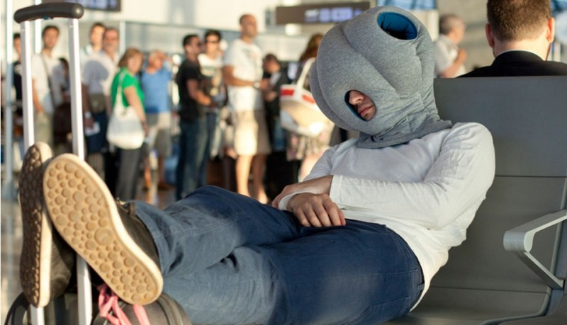 Ostrich Pillow almohada