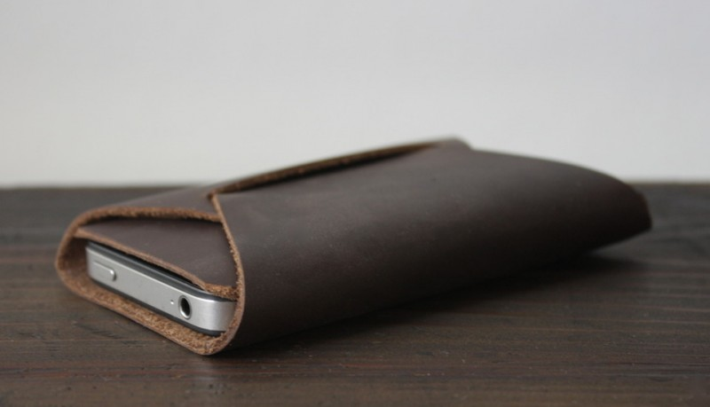 Apogee funda de piel iPhone plegable