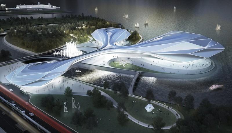 Casa de la ópera de Busan de Asymptote