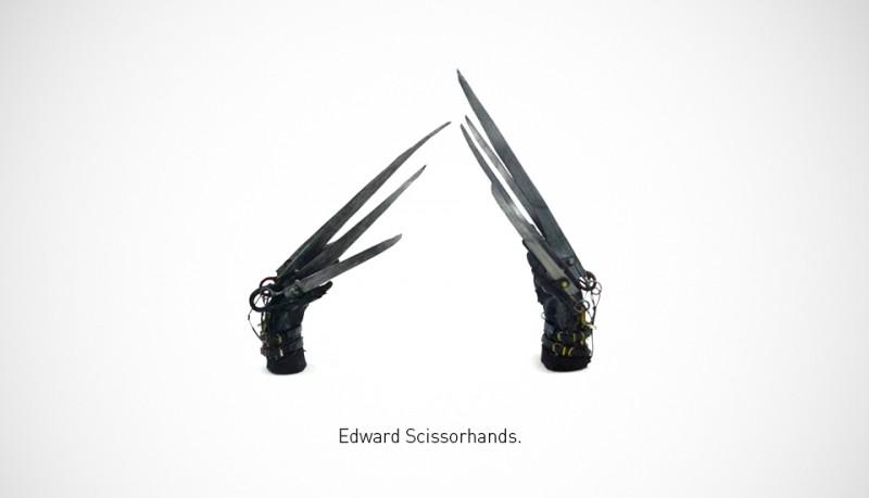 Cuchillos famosos fotografías de Federico Mauro