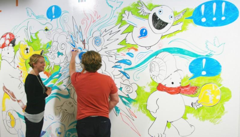 Pinta en las paredes con IdeaPaint