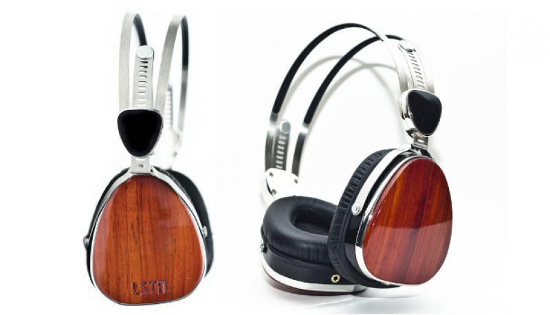 Auriculares LSTN Troubadours de madera