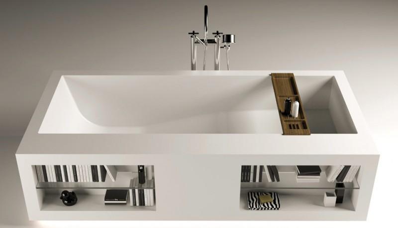 Bañera rectangular Confort Tank LED 3 de Moma Design