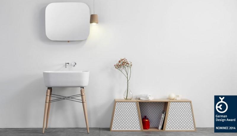 Ray lavabo de cerámica de Michael Hilgers