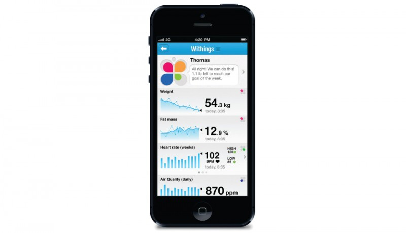 Withings Smart Body Analyzer báscula inteligente