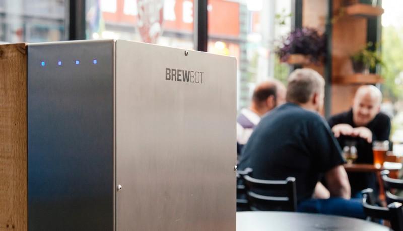 Brewbot cerveza artesanal con tu iPhone o Android