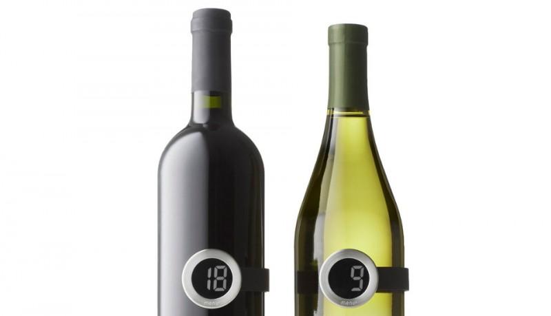 Vignon termómetro botellas de vino