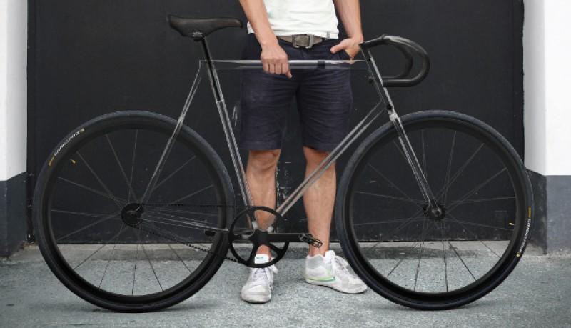 Bicicleta transparente designaffairs
