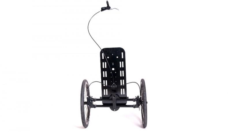 Noomad horquilla doble rueda delantera para biclicetas