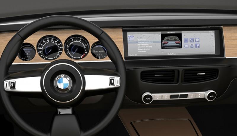 BMW CS Vintage Concepto