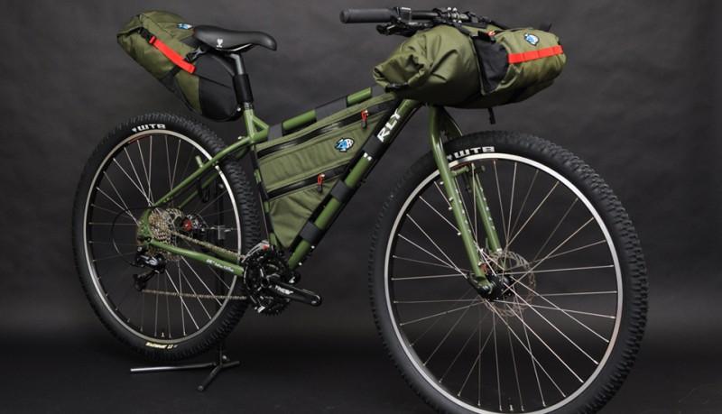 Bolsas para bicicleta porcelain rocket