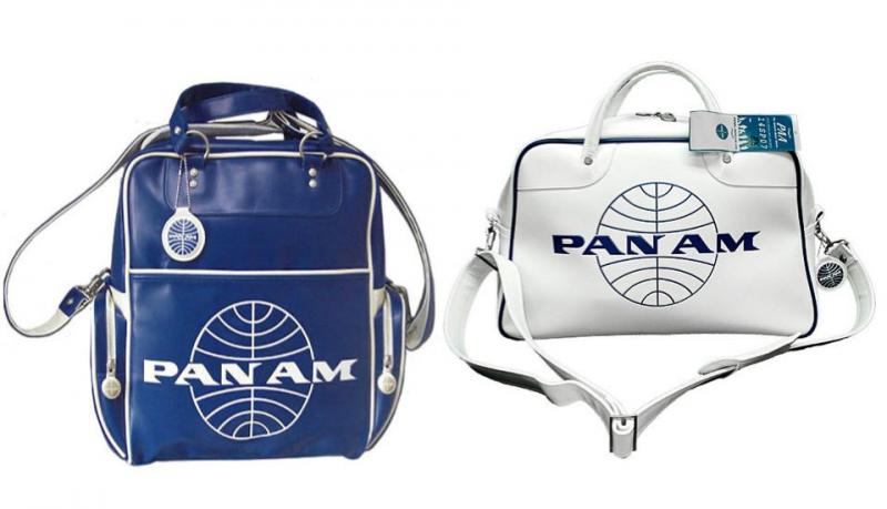 Pan Am bolsas vintage