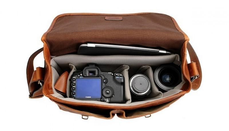 The Brixton | Bolsa para cámara y portátil