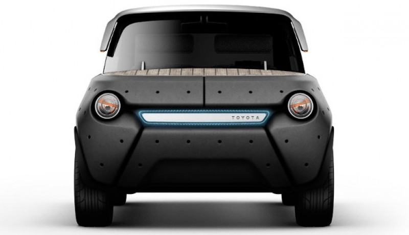 ME.WE concepto de coche eléctrico de Toyota