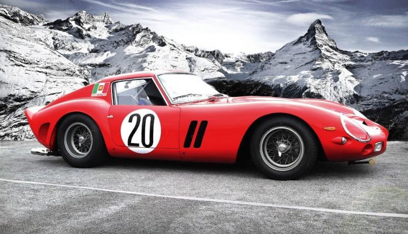Ferrari 1963 250 GTO el coche más caro del mundo