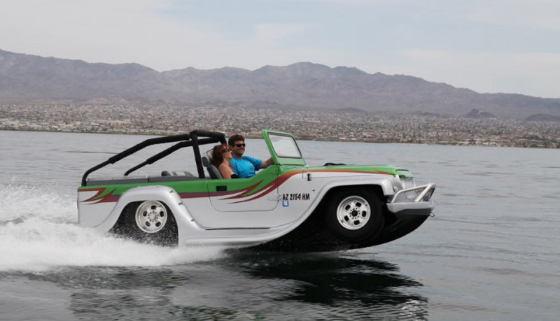 Watercar Panther coche anfibio