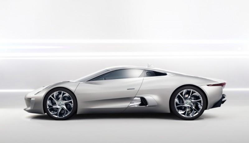 Jaguar C-X75 Coche eléctrico concepto