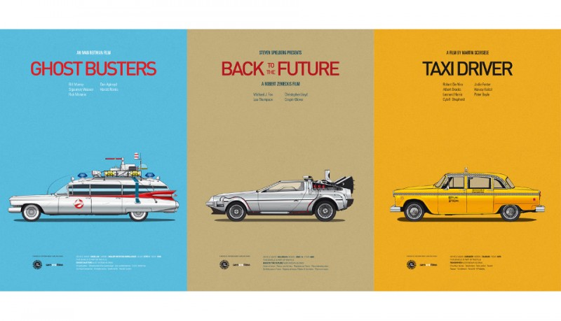 Cars and films posters inspirados en películas
