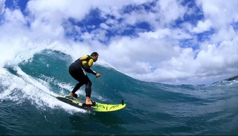 Jetsurf tabla de surf con propulsión