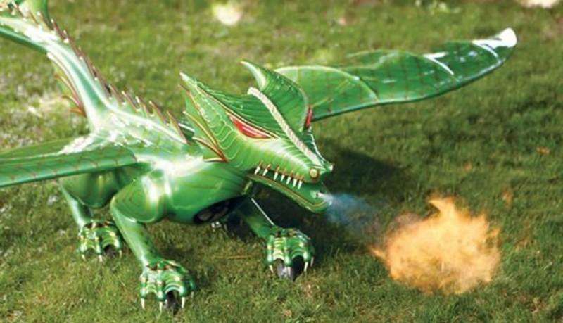 Dragón volador a control remoto