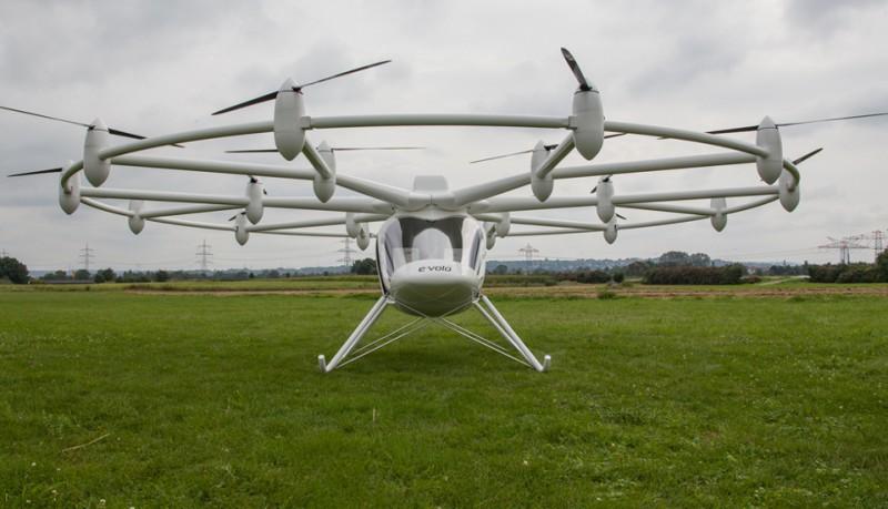E-volo helicóptero eléctrico de 18 rotores VC200