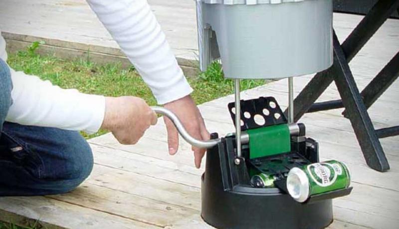 eCool enfría tus cervezas bajo tierra