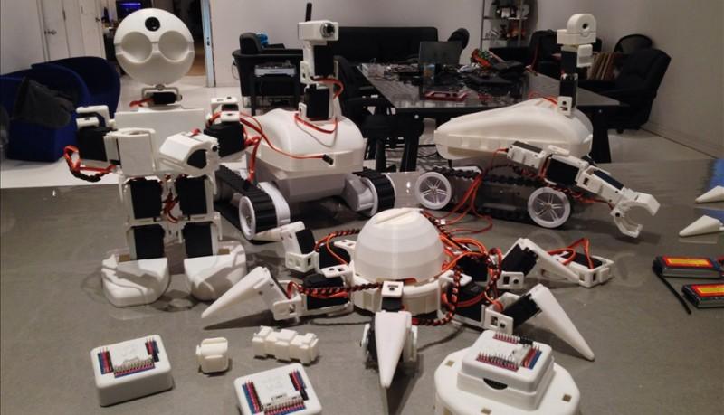 Crea tu robot en casa con EZ Robot Kit