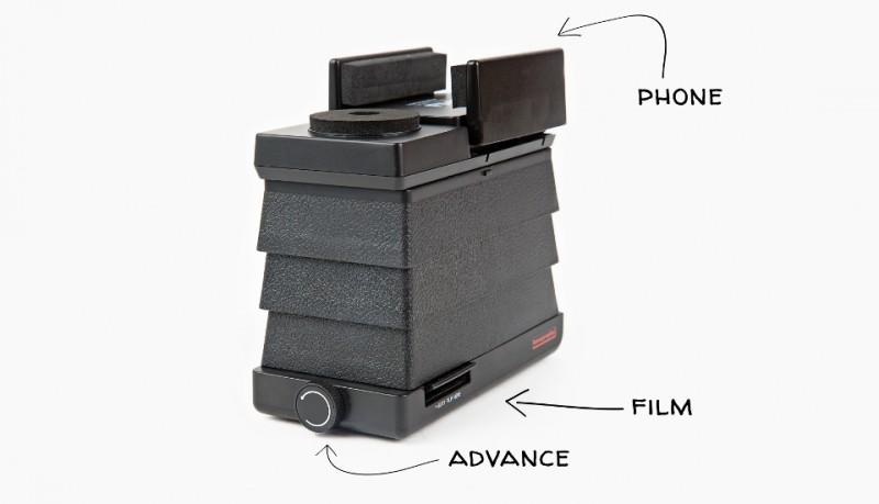 Escáner de negativos para iPhone y Android
