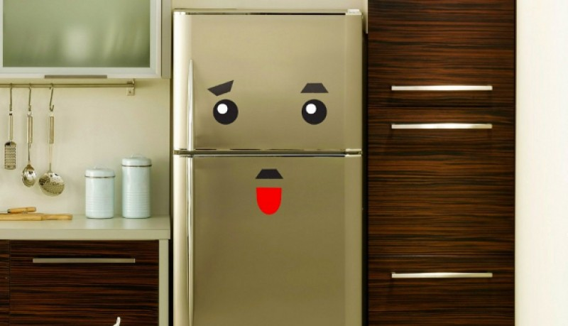 Vinilos Nevera Fridge Monster