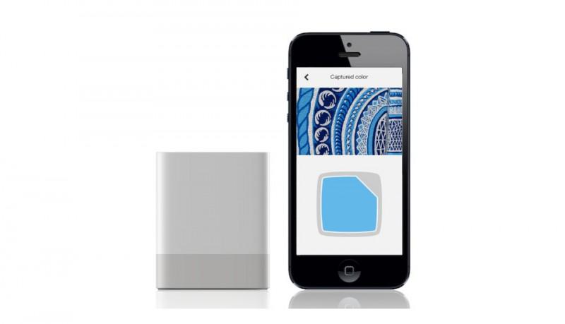 Swatchmate cubo que captura el color de cualquier superficie