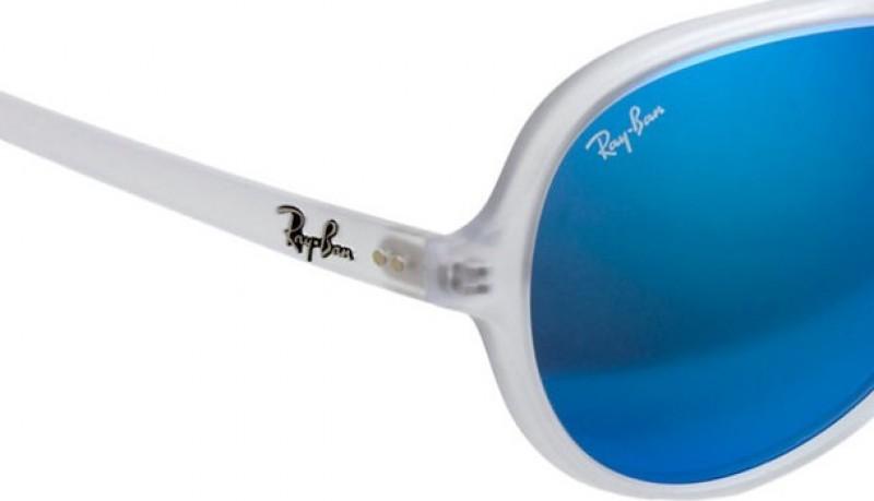 Gafas Rayban transparentes aviator