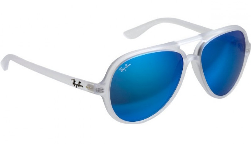 ray ban aviator cristales azules