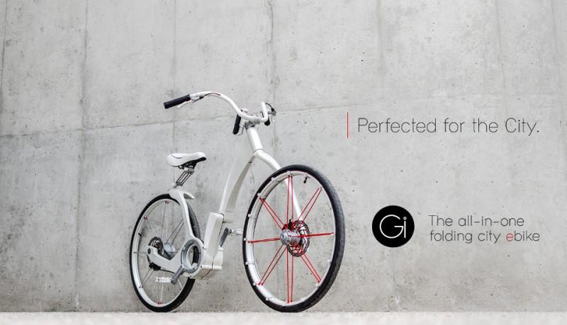 Gi Bike la bicicleta eléctrica plegable