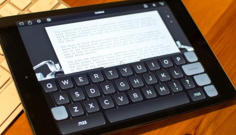 Hanx Writer para los nostálgicos de las máquinas de escribir