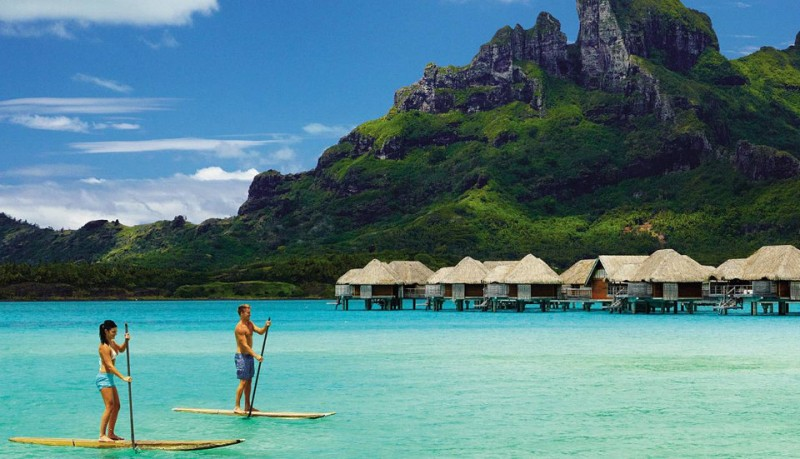 Four Seasons en Bora Bora
