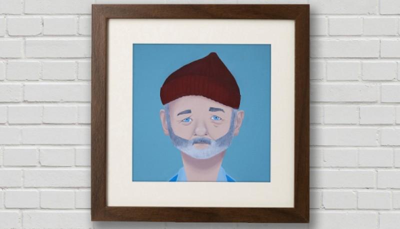 Pinturas de Wes Anderson