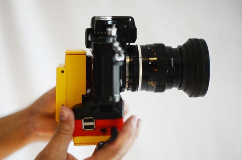 Raspberry Pi que convierte tu cámara analógica en digital
