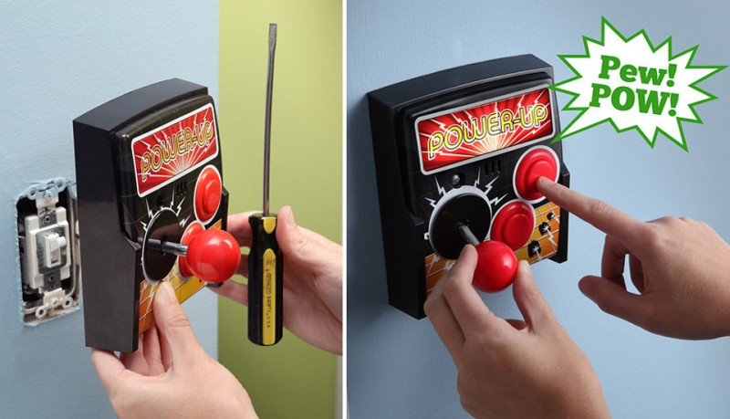 Interruptor de luces arcade Power-Up