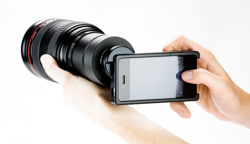 Objetivos SLR para iPhone