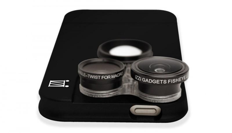 Izzi Slim kit de objetivos para iPhone 5/5s
