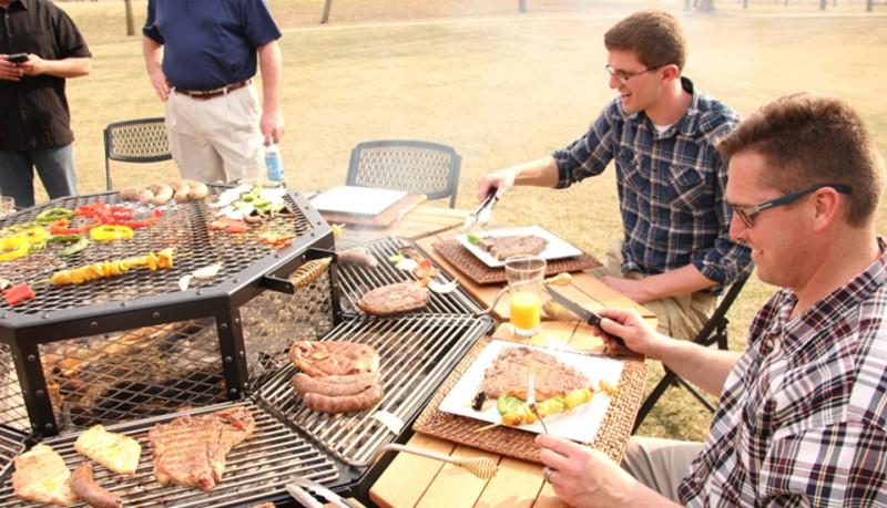 Jag Grill la mesa perfecta para barbacoas