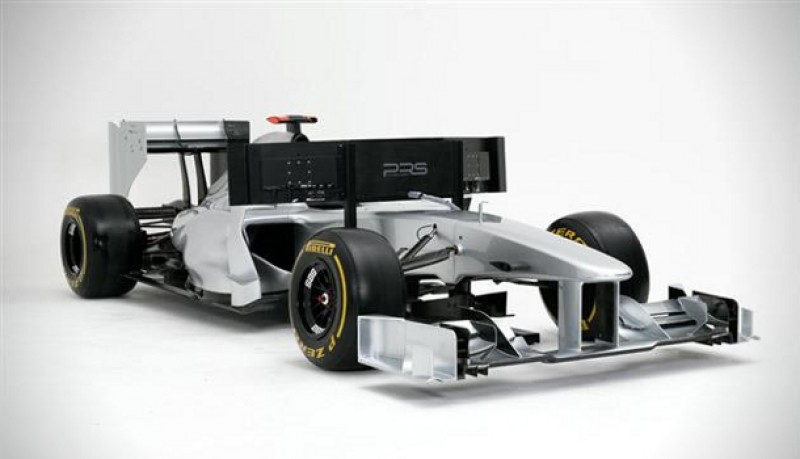 Simulador de Formula 1 a tamaño real