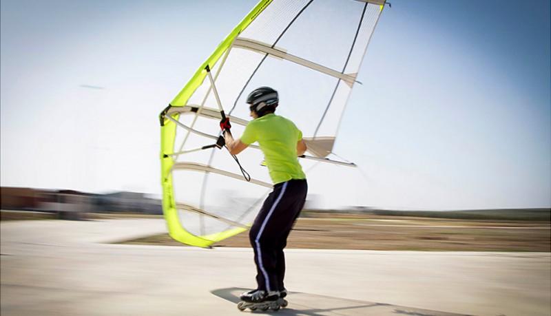 Kitewing una vela para todos los deportes