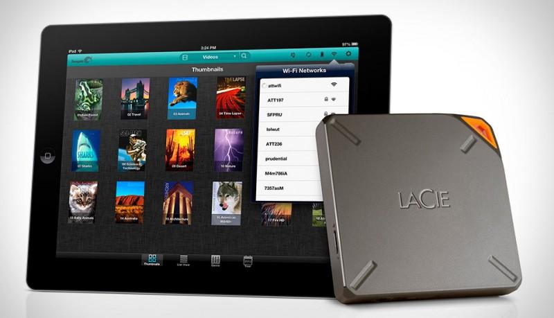 LaCie Fuel disco duro Wi-Fi con batería